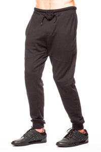 Bottoms - Shades Of Grey Lounge Black Pant