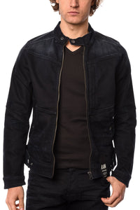Jacket - G-Star Raw Deline 3D Slim Jacket In Dark Aged Siro Black