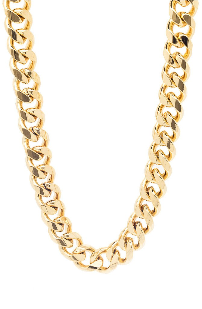 Jewelry - Mister Mr. Curve Curb Chain Gold