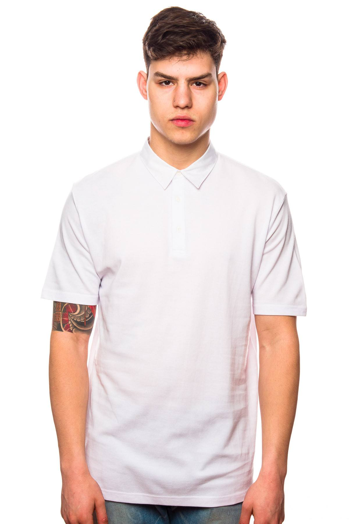 Polo - Shades Of Grey White Polo Shirt