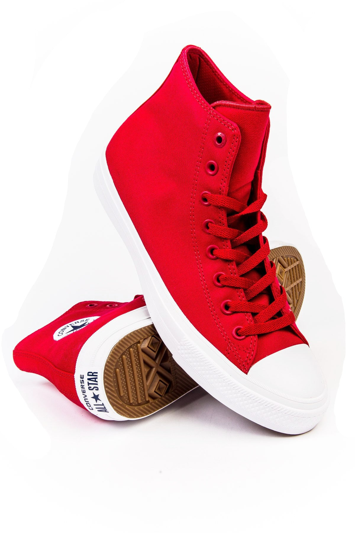 Sneakers - Converse Chuck Taylor  All Star II Red Hi Sneaker