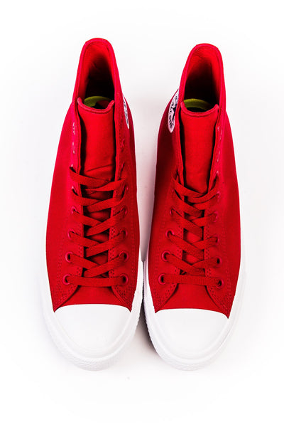 64083c1a1853 Sneakers - Converse Chuck Taylor All Star II Red Hi Sneaker