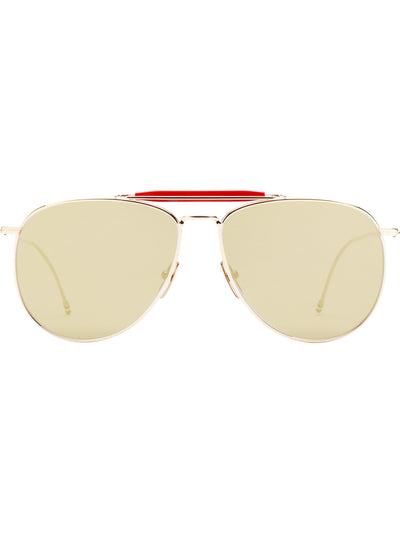 Sunglasses - Thom Browne TB-015-LTD Gold Sunglasses