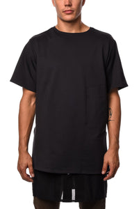 T-Shirt - Y-3 Lux FT Pure Tee In Black