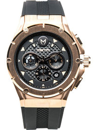 Watches - Meister Ambassador MKIII AM208RB Stainless Steel Rose Gold / Black Watch