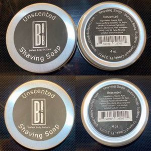 All New Shaving Soap - Butlers Body Butters