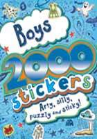 BOYS: 2000 STICKERS, ARTY, SILLY PUZZLY & STICKY! - Dear Books Online Children's Book Store