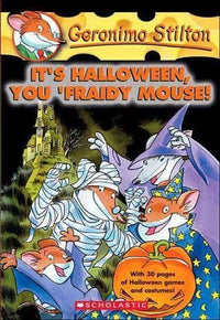 It's Halloween, you 'Fraidy Mouse (Geronimo Stilton #11) - Dear Books Online Children's Book Store Philippines
