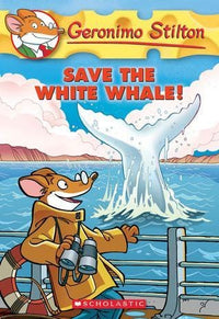 Save the White Whale! (Geronimo Stilton #45) - Dear Books Online Children's Book Store Philippines