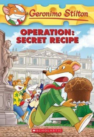Operation: Secret Recipe (Geronimo Stilton #66) - Dear Books Online Children's Book Store