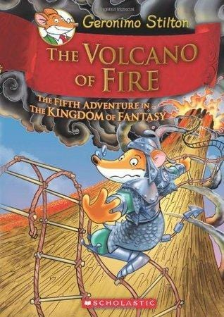 The Volcano of Fire (Geronimo Stilton and the Kingdom of Fantasy #5) - Dear Books Online Children's Book Store Philippines