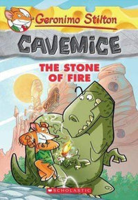 The Stone of Fire (Geronimo Stilton: Cavemice #1) - Dear Books Online Children's Book Store Philippines