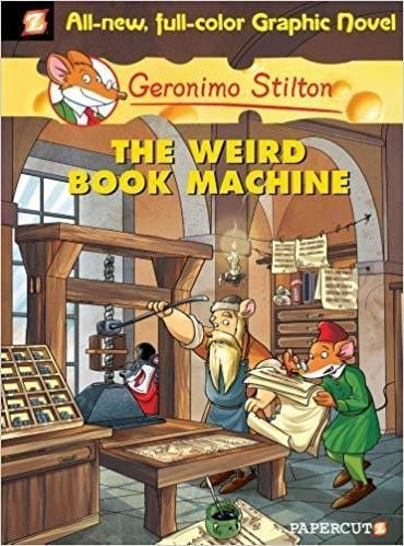 The Weird Book Machine (Geronimo Stilton: Graphic Novel #9) - Dear Books Online Children's Book Store