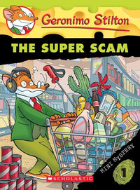 The Super Scam (Geronimo Stilton: Mini Mystery #1) - Dear Books Online Children's Book Store
