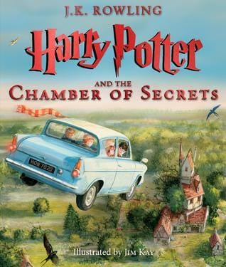 Harry Potter and the Chamber of Secrets Illustrated Edition (Harry Potter #2) - Hardbound
