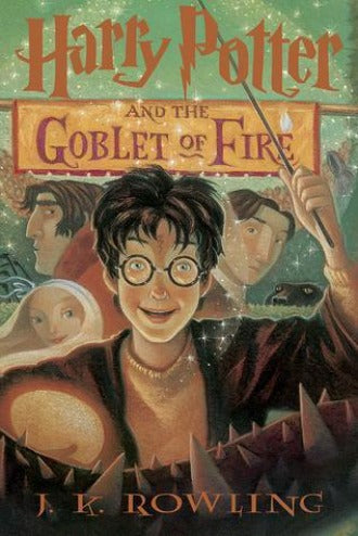 Harry Potter and the Goblet of Fire (Harry Potter #4) - Hardbound - Dear Books Online Children's Book Store Philippines