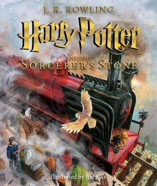 Harry Potter and the Sorcerer's Stone Illustrated Edition (Harry Potter #1) - Hardbound