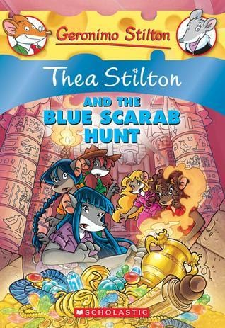 Thea Stilton and the Blue Scarab Hunt (Thea Stilton #11) - Dear Books Online Children's Book Store