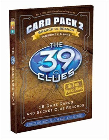 39 Clues Card Pack 2: for Books 4, 5 & 6