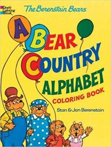 A Bear Country Alphabet Coloring Book (Berenstain Bears) - Dear Books Online Children's Book Store Philippines