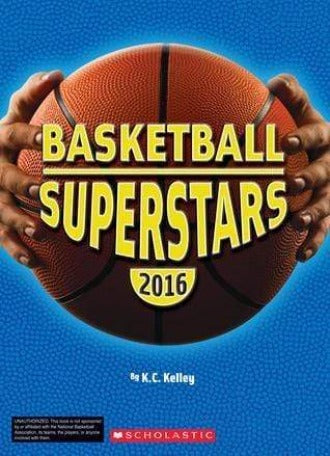 Basketball Supserstars 2016 - Dear Books Online Children's Book Store