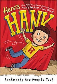 Bookmarks are for People Too! (Here's Hank #1) - Dear Books Online Children's Book Store