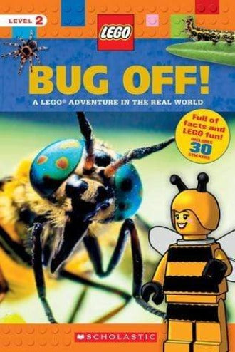 Bug Off! A Lego Adventure in the Real World