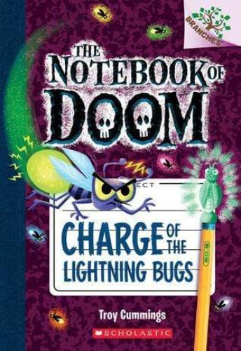 Charge of the Lightning Bugs (The Notebook of Doom #8) - Dear Books Online Children's Book Store Philippines