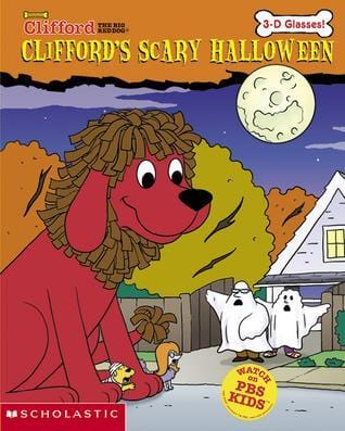 Clifford: Scary Halloween W/ 3-d Glasses