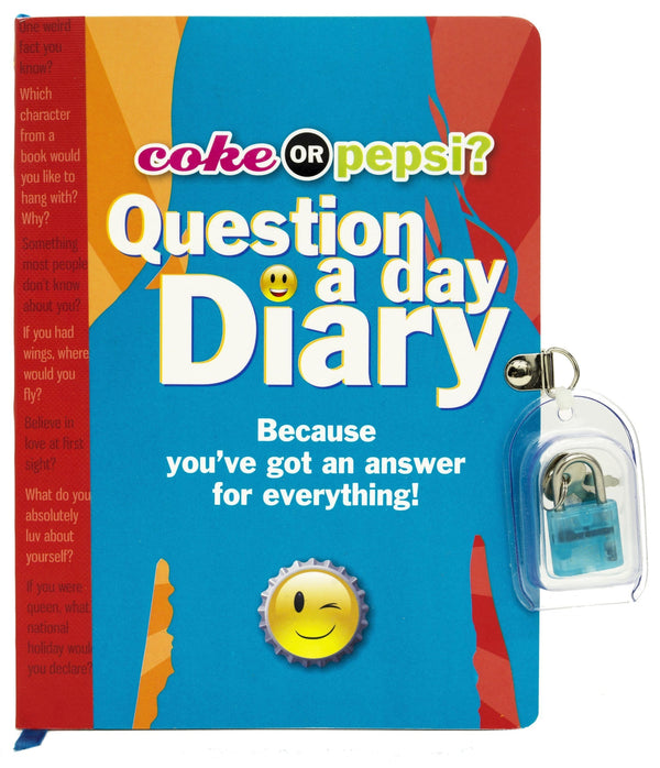 Coke or Pepsi? Question a Day Diary - Dear Books Online Children's Book Store