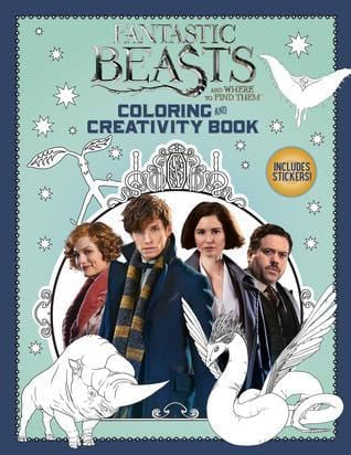 Fantastic Beasts and Where to Find Them: Coloring and Creativity Book