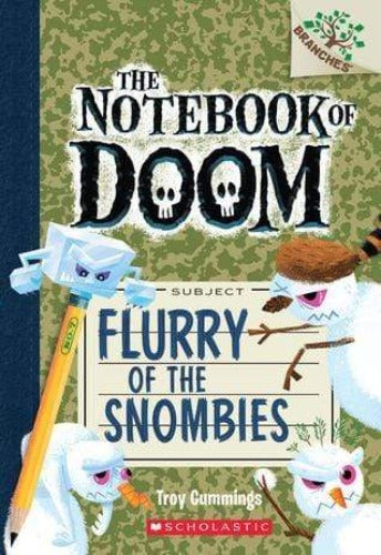 Flurry of the Snombies (The Notebook of Doom #7)