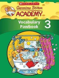 Geronimo Stilton Academy: Vocabulary Pawbook #3 - Dear Books Online Children's Book Store Philippines