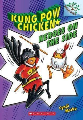 Heroes on the Side (Kung Pow Chicken #4) - Dear Books Online Children's Book Store