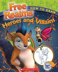 How to Draw Heroes and Villaines (Free Realms)