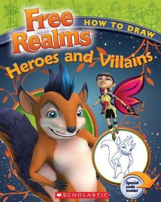 How to Draw Heroes and Villaines (Free Realms) - Dear Books Online Children's Book Store Philippines