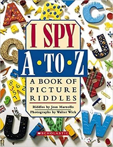 I Spy A to Z: a Book of Picture Riddles - Dear Books Online Children's Book Store