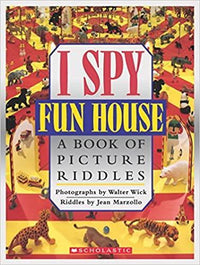 I Spy Fun House: a Book of Picture Riddles - Dear Books Online Children's Book Store