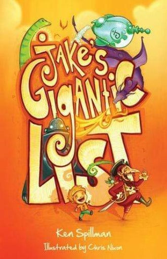 Jake's Gigantic List - Dear Books Online Children's Book Store