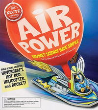 Klutz Air Power: Rocket Science Made Simple Craft Kit - Dear Books Online Children's Book Store Philippines