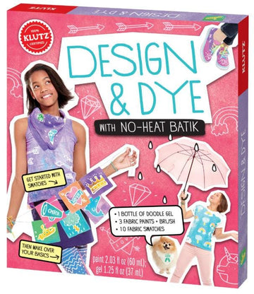 Klutz: Design & Dye With No-heat Batik