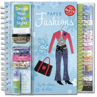 Klutz: Paper Fashions - Dear Books Online Children's Book Store