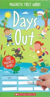 Magnetic First Words: Days Out - Dear Books Online Children's Book Store Philippines