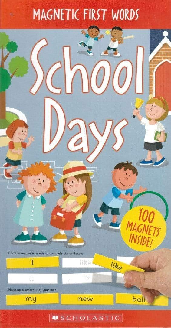 Magnetic First Words: School Days - Dear Books