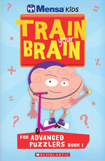 Mensa Train Your Brain Advanced Puzzlers Book 1