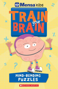 Mensa Train Your Brain Mind-Bending Puzzles - Dear Books Online Children's Book Store Philippines