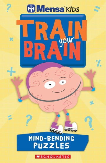 Mensa Train Your Brain Mind-Bending Puzzles