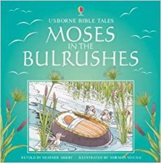Moses in the Bulrushes (Usborne Bible Tales)