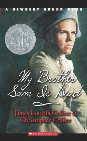 My Brother Sam Is Dead - Dear Books Online Children's Book Store