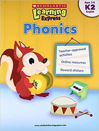 Phonics (Scholastic Learning Express: K2) - Dear Books Online Children's Book Store